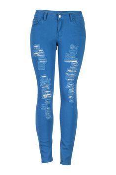 Distressed Skinny Jeans - BodiLove | 30% Off First Order  - 12
