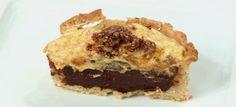Aprenda a fazer a receita Torta de castanha-do-Pará com chocolate amargo