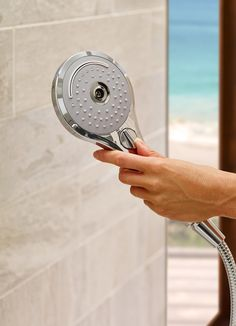 Aero Handshowers by TOTO have three different modes for a more luxurious, personalized shower experience. Increase shower durability and prevent limescale build up with rubber nozzles. Shower Hose, Shower Arm, Bathroom Hardware, Bathroom Fixtures, Sewage System, Classic Series, Wall Outlets, Door Handles, Showers