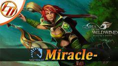 Miracle-  Windranger Mid  Dota 2 Pro Gameplay | Miracle- Fullgame