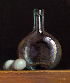 Oil paintings by Abbey Ryan Low Key Lighting, Dutch Golden Age, Chiaroscuro, Coffee Art, Kitchen Art, Woman Painting, Still Life Photography, Fun To Be One, Glass Bottles