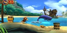 Controlled by a group of evil Tikis, the animals in Donkey Kong Island have raided Donkey Kong's Banana Hoard and stolen his stash of bananas – and he understandably wants them back! http://downloadgamestorrents.com/nintendo-3ds/donkey-kong-country-returns-3d-nintendo3ds.html - free download
