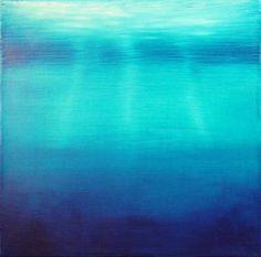 Rothko,Green Over Blue.The watery mirror ¿Disuelve la luz la materia o la materia se disuelve en luz? Mark Rothko, Rothko Art, Edward Hopper, Modern Art, Contemporary Art, National Art, Art Moderne, Blue Art, Blue Abstract