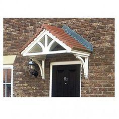 Sedgefield Duo Pitch GRP Door Canopy