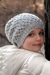 Winter Adventure hat is a cozy looking hat that has multiple sizes.