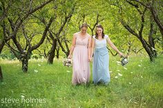 LBGTQ spring wedding at Allyson's orchard. Photo by Steve Holmes Photography