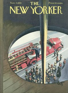 The New Yorker - Saturday, November 7, 1953 - Issue # 1499 - Vol. 29 - N° 38 - Cover by : Arthur Getz