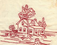 vintage redwork embroidery patterns | Redwork…..some vintage patterns to download
