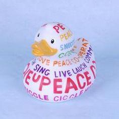 Big Positive Poem Duck