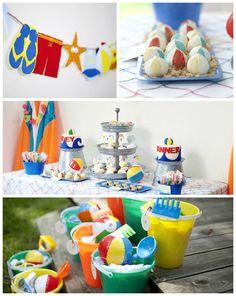 Beach Bash Birthday Party via Kara's Party Ideas | KarasPartyIdeas.com #beachbash (5)