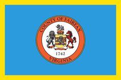 County flag - Fairfax County, Virginia (VA)