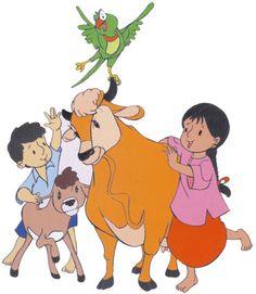 Meena the famous cartoon series of doordarshan