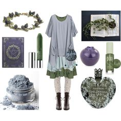 Spring Frost by maggiehemlock on Polyvore featuring Champagne, Free People, EAST, Clinique, Vera Wang, Tony Moly and Pixi