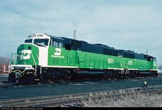 RailPictures.Net Photo: BN 9271 Burlington Northern Railroad EMD SD60M at London, Ontario, Canada by Roger Lalonde