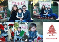 Christmas mini sessions. Christmas holiday photography with vintage shabby chic mantel set. Outdoor Christmas photo shoot. Christmas picture ideas. 3 month Christmas picture ideas. 6 month Christmas picture ideas. 9 month Christmas picture ideas. 1 year and toddler Christmas ideas. Christmas family photos. Couple Christmas pictures. Christmas photos with handmade banner - Noel. Photo ideas for holidays with props.