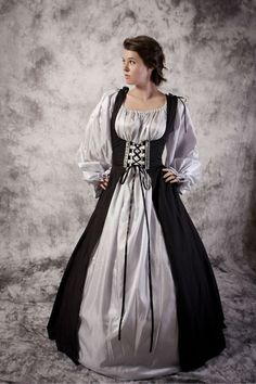 Medieval Scottish Woman | Medieval Scottish Tartan Costume Gown Dress Women LARP