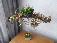 Paasdecoratie Easter Flower Arrangements, Easter Flowers, Floral Arrangements, Art Floral, Plant Hanger, Workshop, Spring, Inspiration, Design