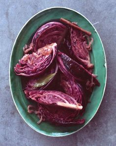 Braised Red Cabbage with Caramelized Onion and Fresh Apple Cider