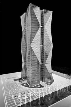 In Progress: China Steel Corporation Headquarters / Artech Architects,model 01