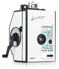Covered in an ultra-cool dot design, the LomoKino MUBI edition is the perfect tool for aspiring filmmakers and movie aficionados alike.