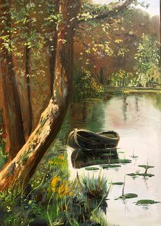 Tájkép olajfestő tanfolyamunknról Painting, Art, Painting Art, Paintings, Kunst, Paint, Draw, Art Education, Artworks