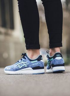 Asics Gel Lye III blue mint