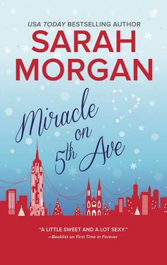 US cover for Miracle on 5th Avenue, coming Dec 2016