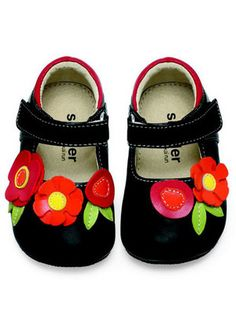 4ed392244b 21 Best Little Happy Feet - Baby Girls Shoes images | Baby girl ...