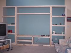 Homemade Entertainment Center Plans
