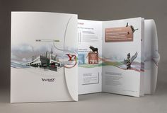 yahoo search marketing brochure on the behance network
