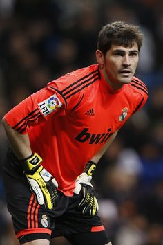 Iker Casillas. #best goalkeeper #stud #hala madrid