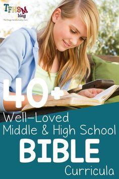 High School Curriculum, Homeschool Curriculum, Homeschooling, Bible Study Guide, Free Bible Study, Middle School Grades, Christian School, Popular, Sunday School