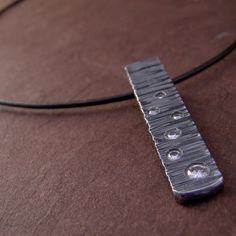Zen Sterling Silver Galaxy Moissinite Pendant Black by Panicmama Jewelry by Renee Ford, $327.00