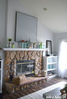 DIY large wall art, creating large wall art using a curtain panel and a DIY wood frame. Making this large wall decor idea very low cost and fully custom to your home decor needs. To see more click on the link or visit- http://ourhousenowahome.com/