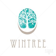 Nice water color tree with defined boundaries using negative space Cabinet Medical, Owl Logo, Make Your Own Logo, Brand Fonts, Tree Logos, Heart Logo, Geometric Logo, Retro Logos, Badge Design