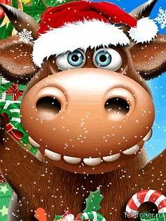 60 Fonds écran Animés pour Mobile Noël - Gratuit!