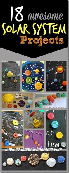 Whether you are diving into an astronomy unit in your homeschool / classroom or your child just has a natural curiosity about space, here are 18 Solar System Projects your kids will love!  Read more »