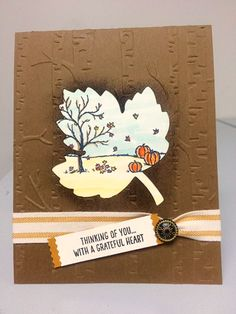 Stampin' Up! Blog Hop featuring a fall/autumn theme - Stellar Stamps