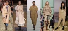Looks from L-R: Burberry, Simone Rocha, Barbara Casasola, J.W. Anderson and… LFW top fashion trends ss17