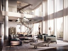 High Rise Apartment Inside spacious luxury high-rise apartment near the new perot museum at