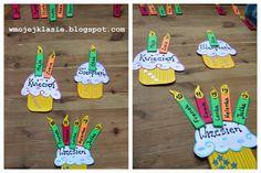Lekcja wychowawcza - Klasowy kalendarz urodzinowy ~ W mojej klasie