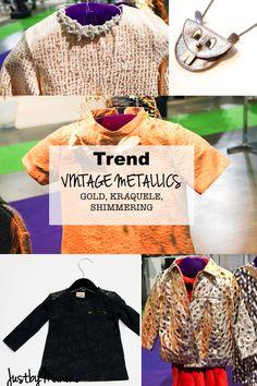 TREND vintage metallics kidswear AW 2014:2015 kids fashion winter playtime paris