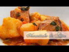 Recetas y Restaurantes- Receta de Marmitako de Atún - YouTube