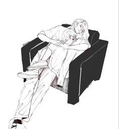 Anime Boy Sketch, Girl Drawing Sketches, Anime Romans, Wallpaper Pc Anime, Loki Drawing, Bl Comics, Tokyo Ravens, Anime Qoutes, Mikey