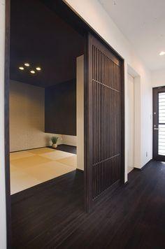 Modern Japanese Interior, Japanese Modern House, Japanese Home Design, Japanese Furniture, Asian Interior, Modern Interior Design, Japanese Architecture, Space Architecture, Tatami Room