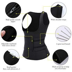 9d8056af976 Lover-Beauty Women Vest Waist Trainer Gym Hot Sweat Waist Trimmer Belt  Weight Loss