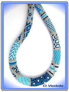 how to bead crochet | SPIRALE RUSSE : Les perles ne sont pas tissées une à une mais ...