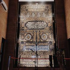 Kiswa in the Beautiful Mosque...