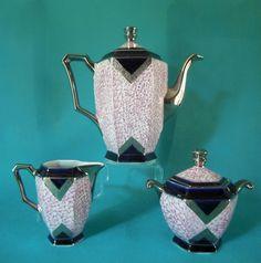 art deco Limoges porcelain