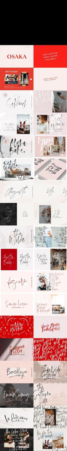 HANDWRITTEN FONT BUNDLE   188 FONTS #fontbundle #signate #calligraphyfonts #texture #creatorkit #hand-letteredfonts #pre-madelogos #otf #creatorkit #watercolourbackground #handwritingfonts #logofonts #pre-madelogos #fonts #opentype #goldswashes #monoscript #fonts #pen Calligraphy Fonts, Typography Fonts, Typography Design, Lettering, Best Script Fonts, Cool Fonts, Feminine Fonts, Font Design, Font Alphabet